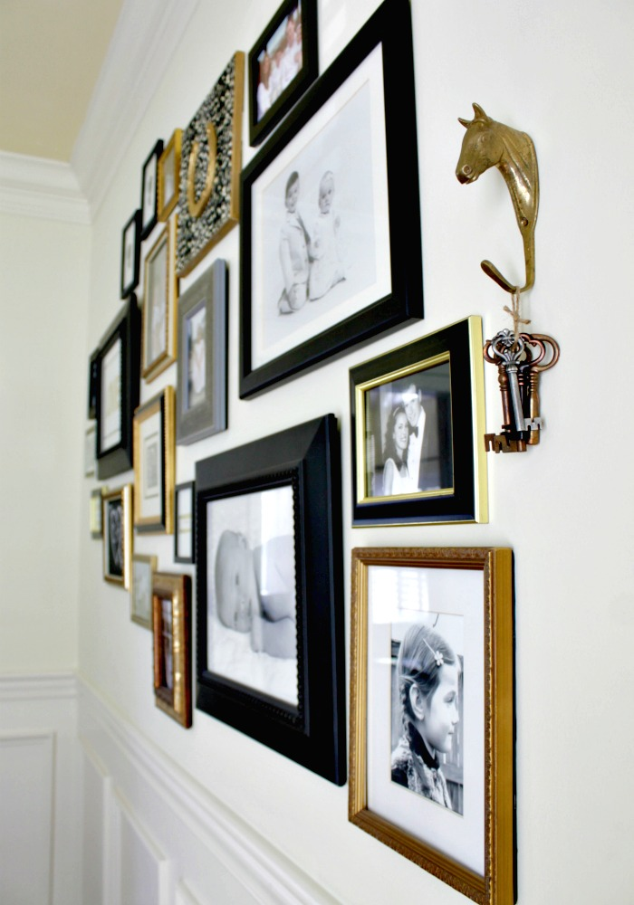 Our fifth house dining room tour and story for Dining room gallery wall