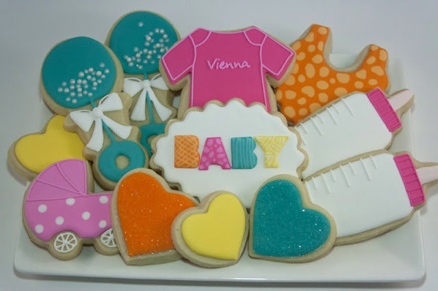 baby cookie platter