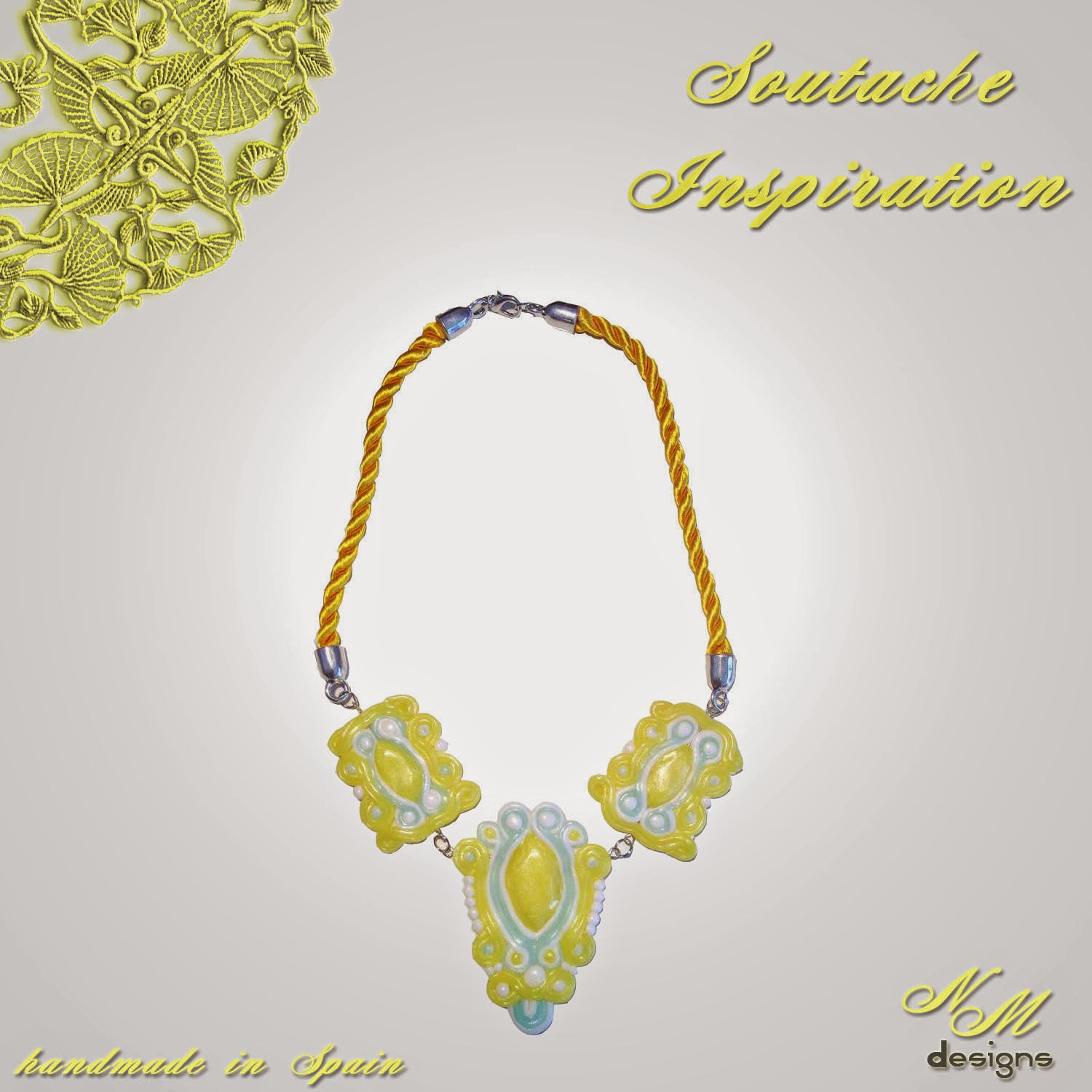 "Collar/Necklace ""Summer Sunshine"" NM Designs"
