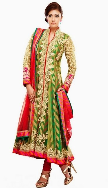 Designer Anarkali Churidar Suits