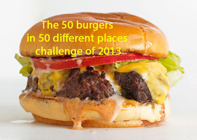 50 Burger Challenge
