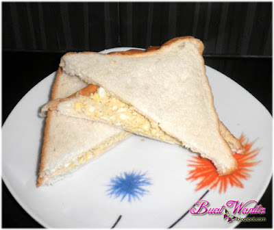Resepi Sandwich Telur. Cara Buat Sandwich Telur Simple Senang Sedap