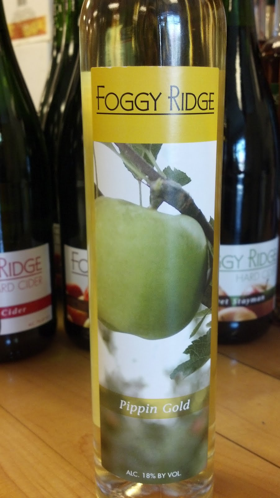 Pour me a glass tasting 49 hard cider for Cider ridge