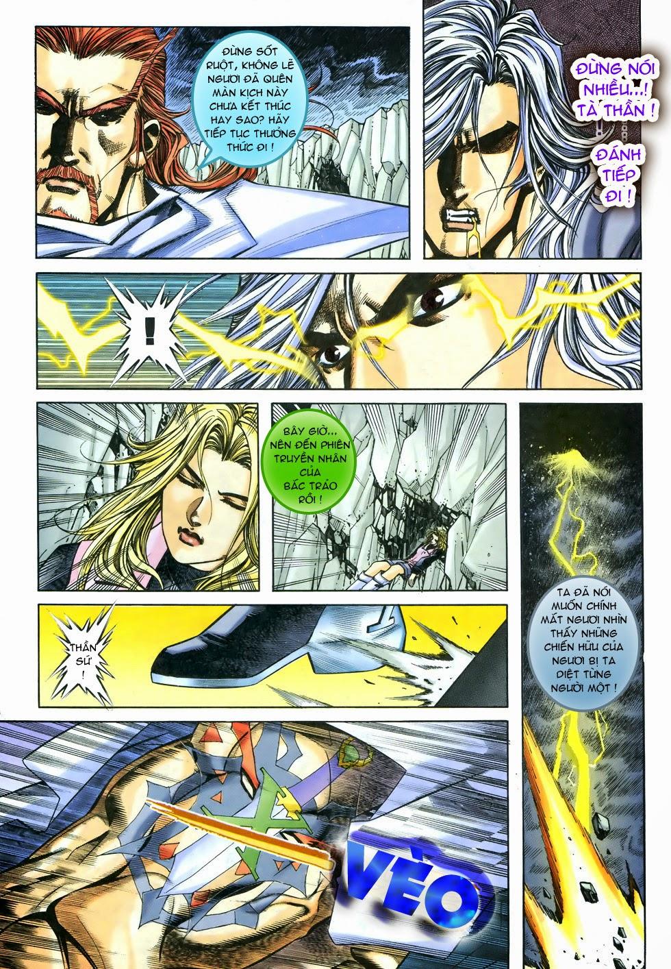 X Bạo Tộc chap 68 - Trang 10