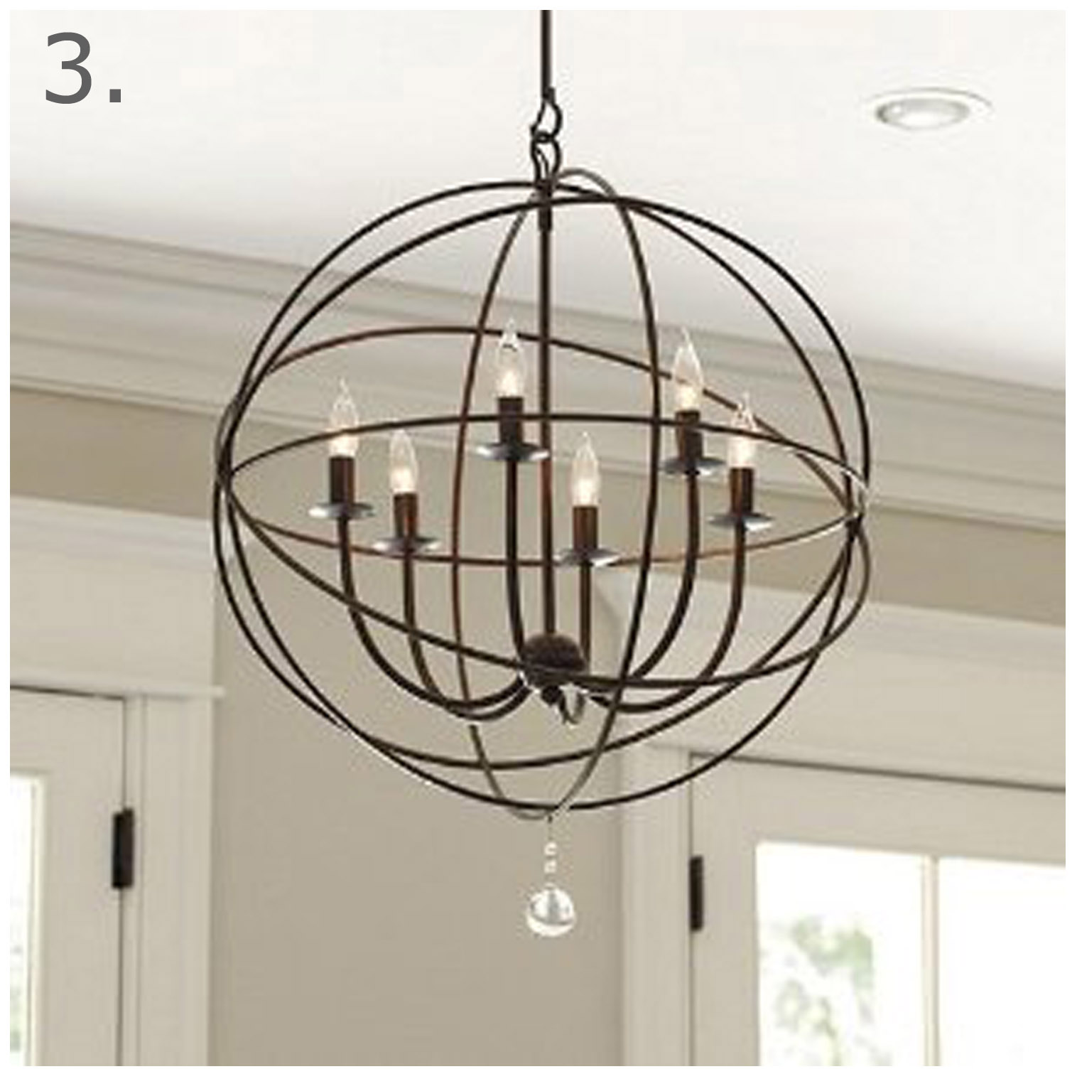 the ra ra home orb extra large chandelier