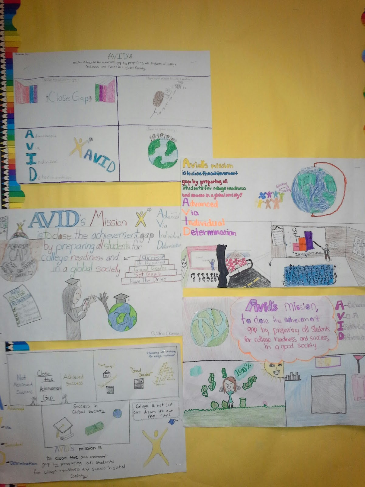 avids mission is to close the achievement gap by preparing all students for college readiness and success in a global society