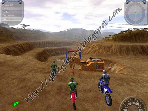 Free Download Games - Motocross Madness 2
