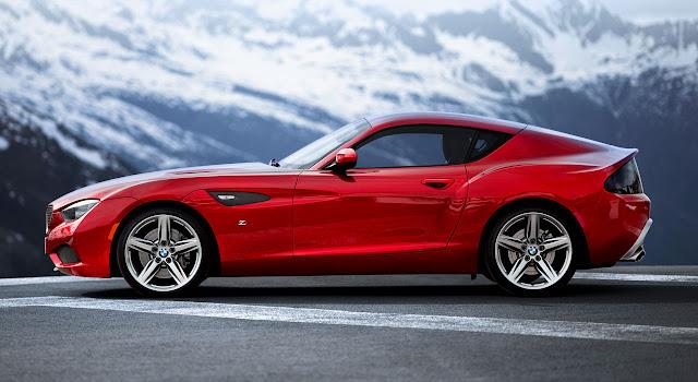BMW Zagato Coupé side