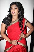 Sowmya glamorous half saree photos-thumbnail-1