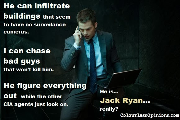 Chris Pine as Jack Ryan meme