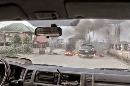 Gunmen Open Fire at Governor Amaechi's Convoy in Port Harcourt