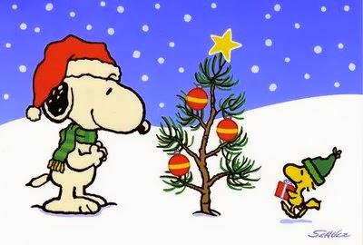 Im genes de Snoopy en Navidad Blog de im genes