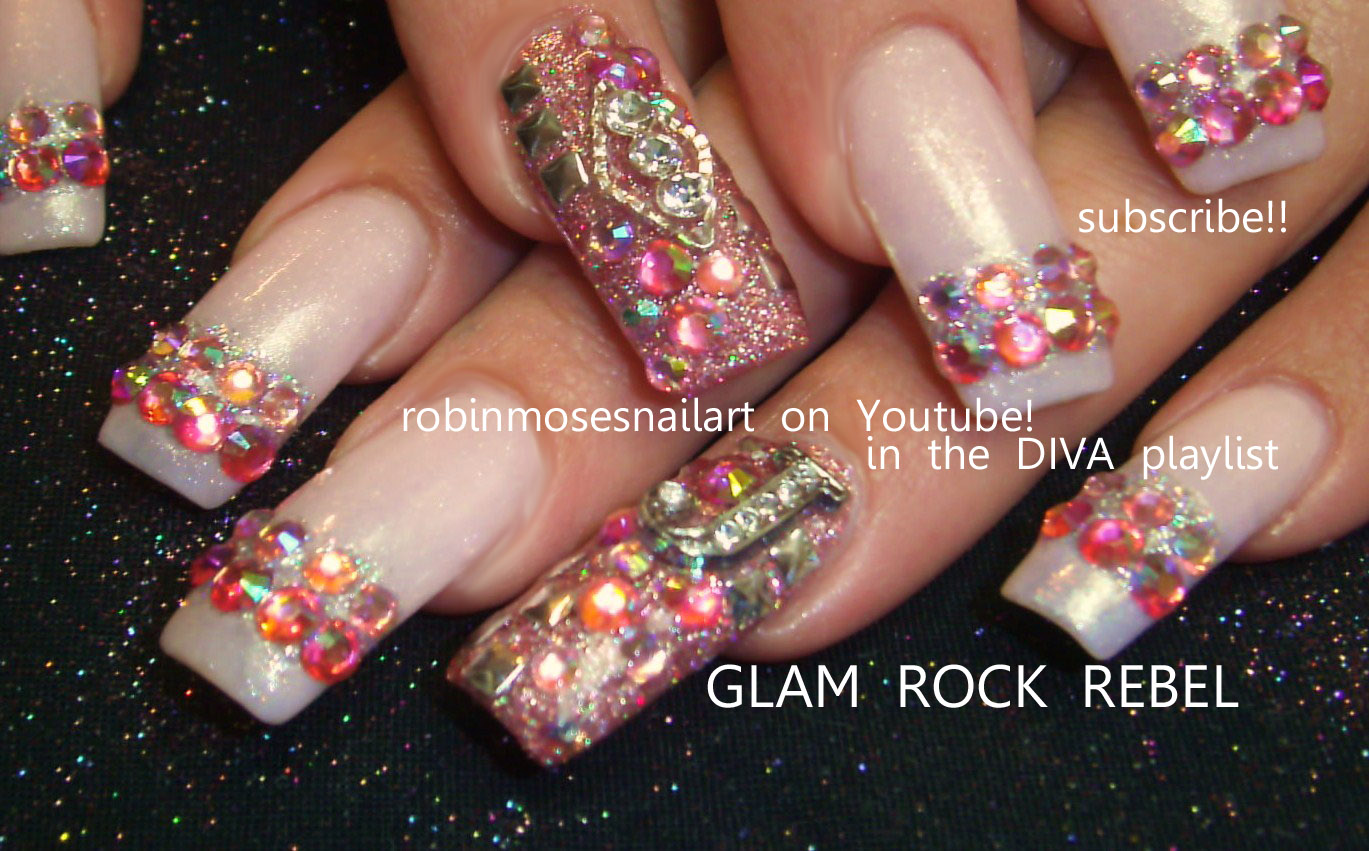 "Moses Nail Art: ""diva nail art"" ""high glitz nail art"" ""juicy nail art"