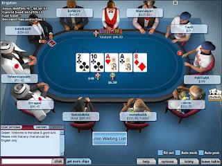 Ilyen lehet a póker asztal kinézete