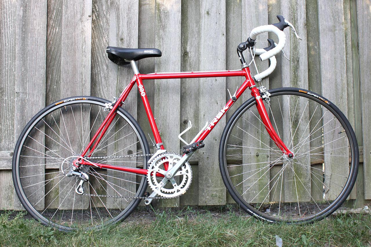 John's Bicycle Restorations: Jose's Trek 330 Restoration