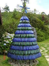 Árvore de Natal de garrafas pet passo a passo