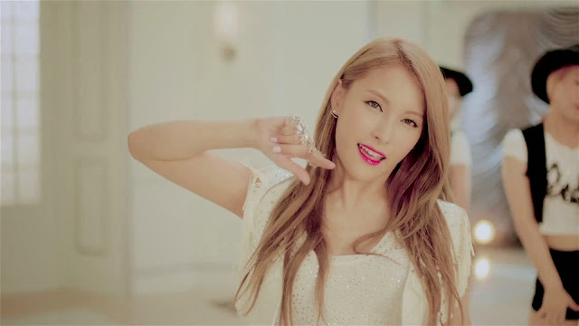 Kara's Gyuri in Cupid MV