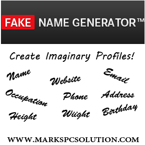 Fake Profile Generator