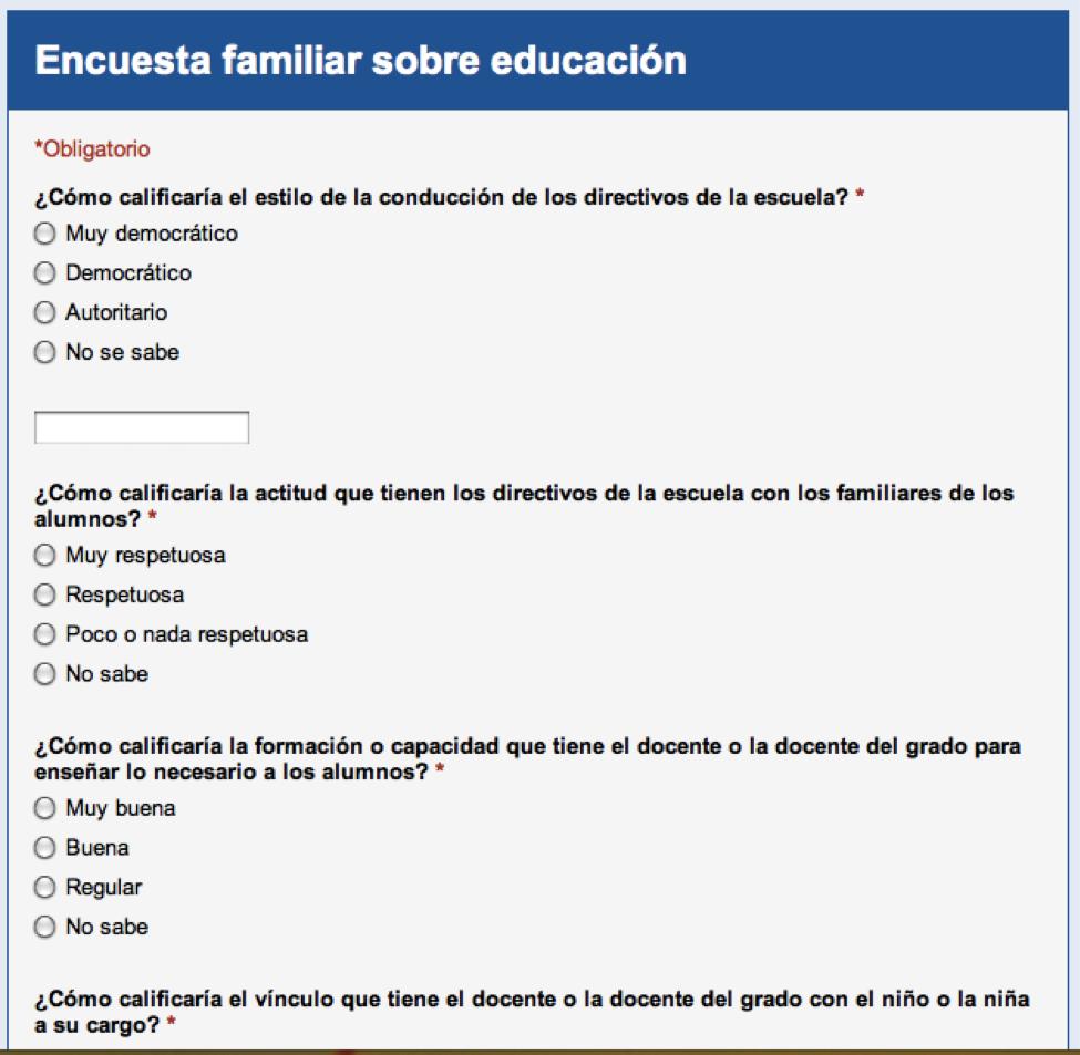 Evaluación para la calidad educativa