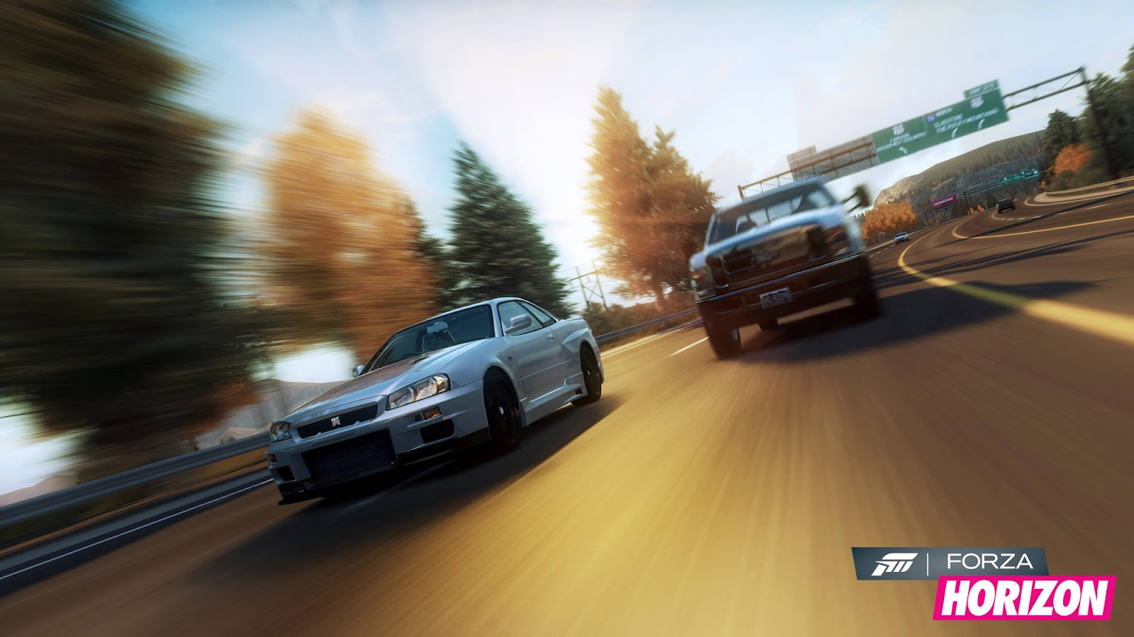 Forza Horizon HD & Widescreen Wallpaper 0.164561466294568