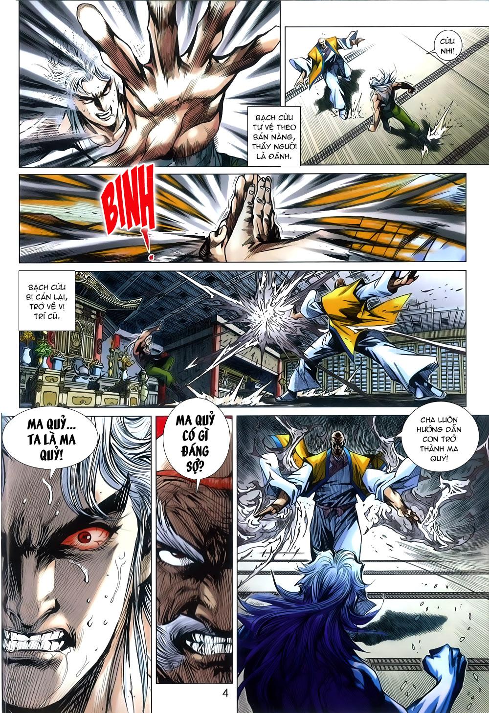 Tân Tác Long Hổ Môn chap 791 Trang 4 - Mangak.info