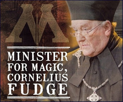 Cornelius Fudge Minister for Magic