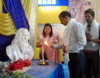 Gautam deb in 155th birth anniversary of Rabindranath Tagore