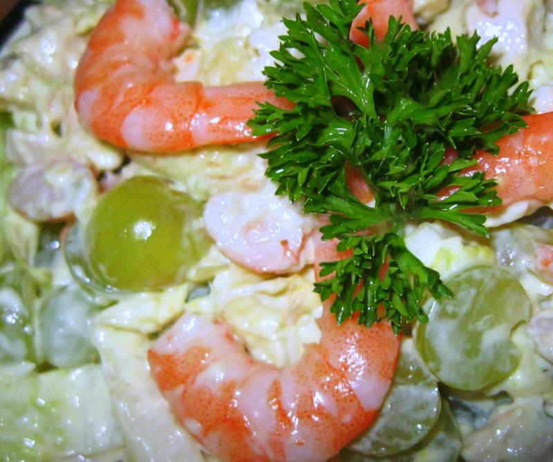 Лучшие салаты с креветками с фото