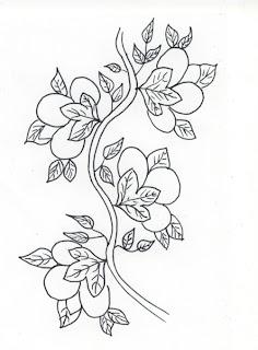 Japanese Flower Flash Tattoo