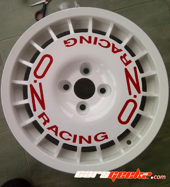 OZ Racing Rally @ OZ Route decal sticker