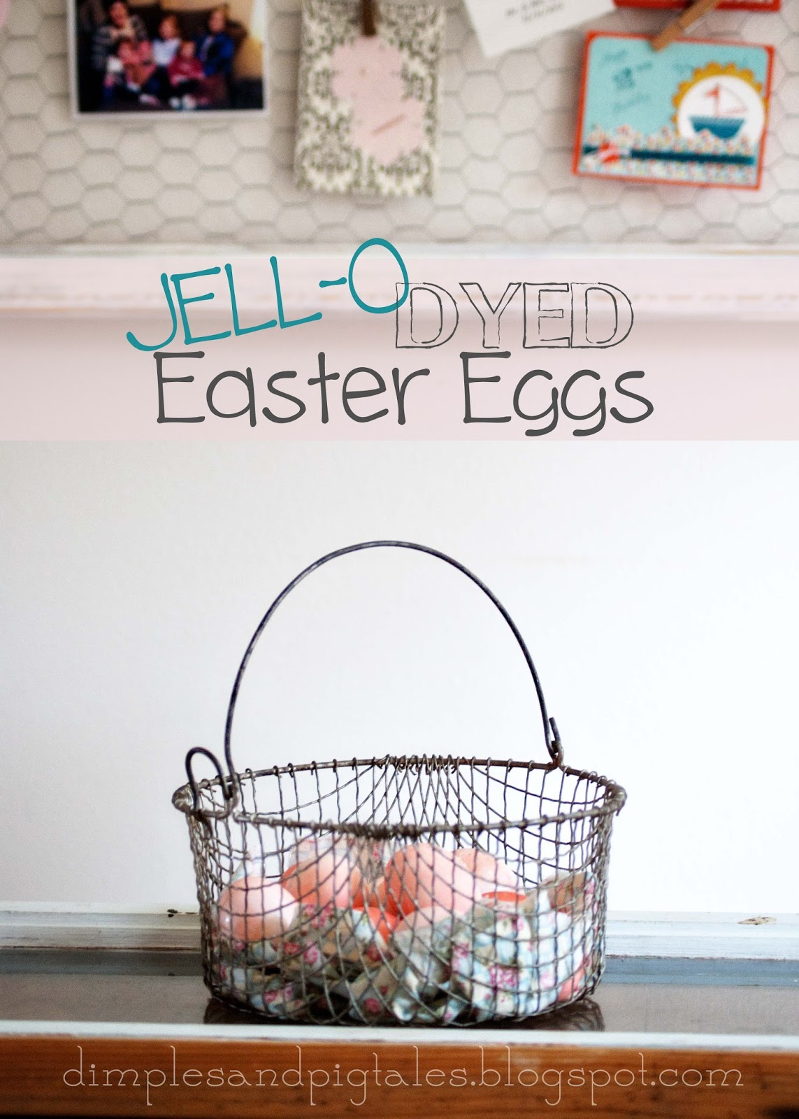 Jello Dyed Easter Eggs {tutorial} | Averie Lane: Jello Dyed Easter ...