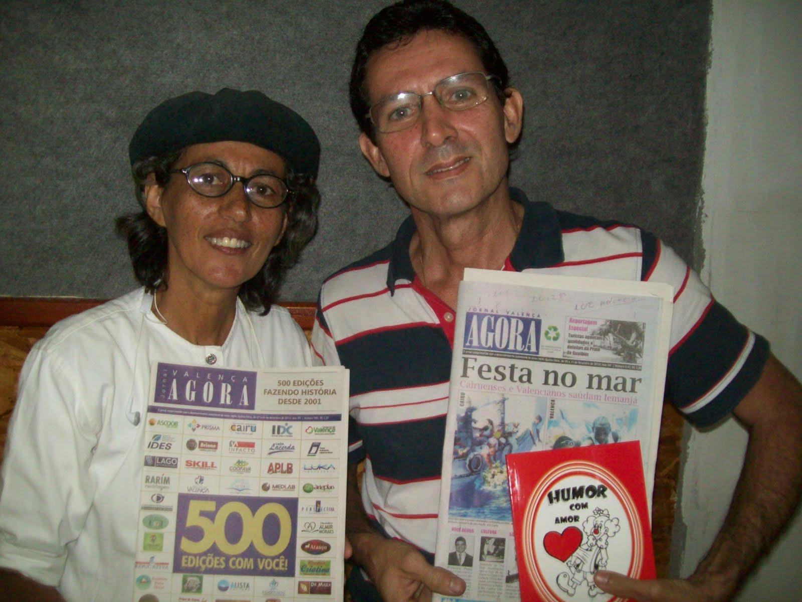 Celeste Martinez e Vidalto Oiticica