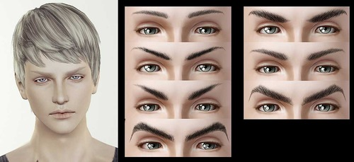 how to fix male eyebrows