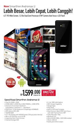 Harga Smartfren Andromax U Terbaru 2013