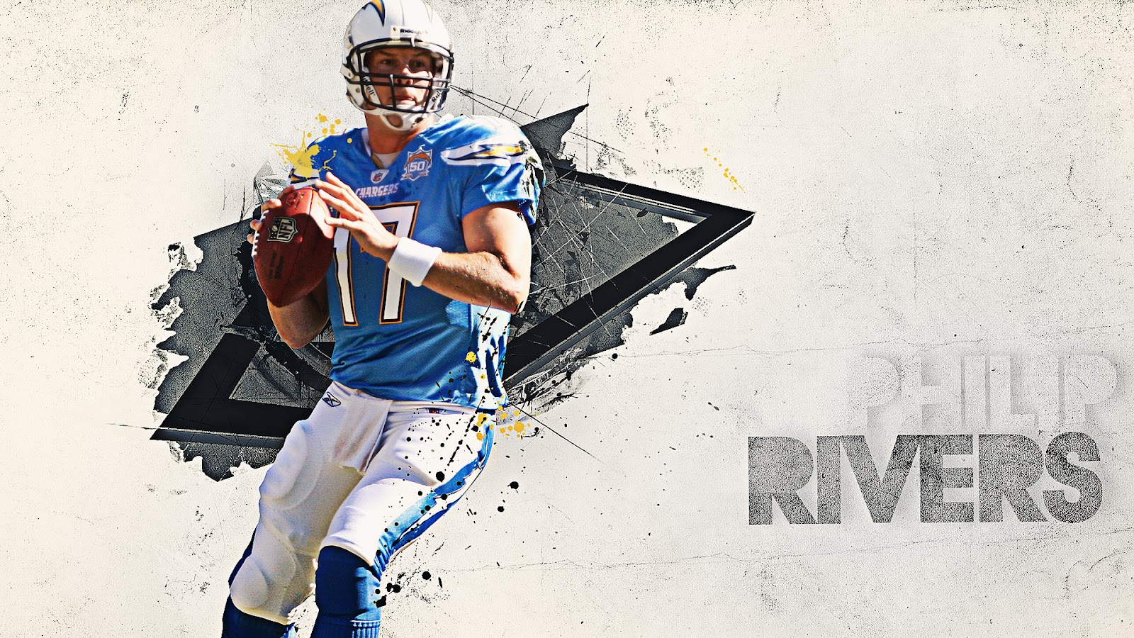 Philip rivers san diego chargers hd quality nfl wallpaper philip rivers san diego chargers voltagebd Images
