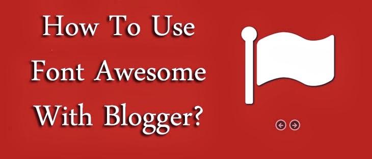 menggunakan-font-awesome-di-blogger