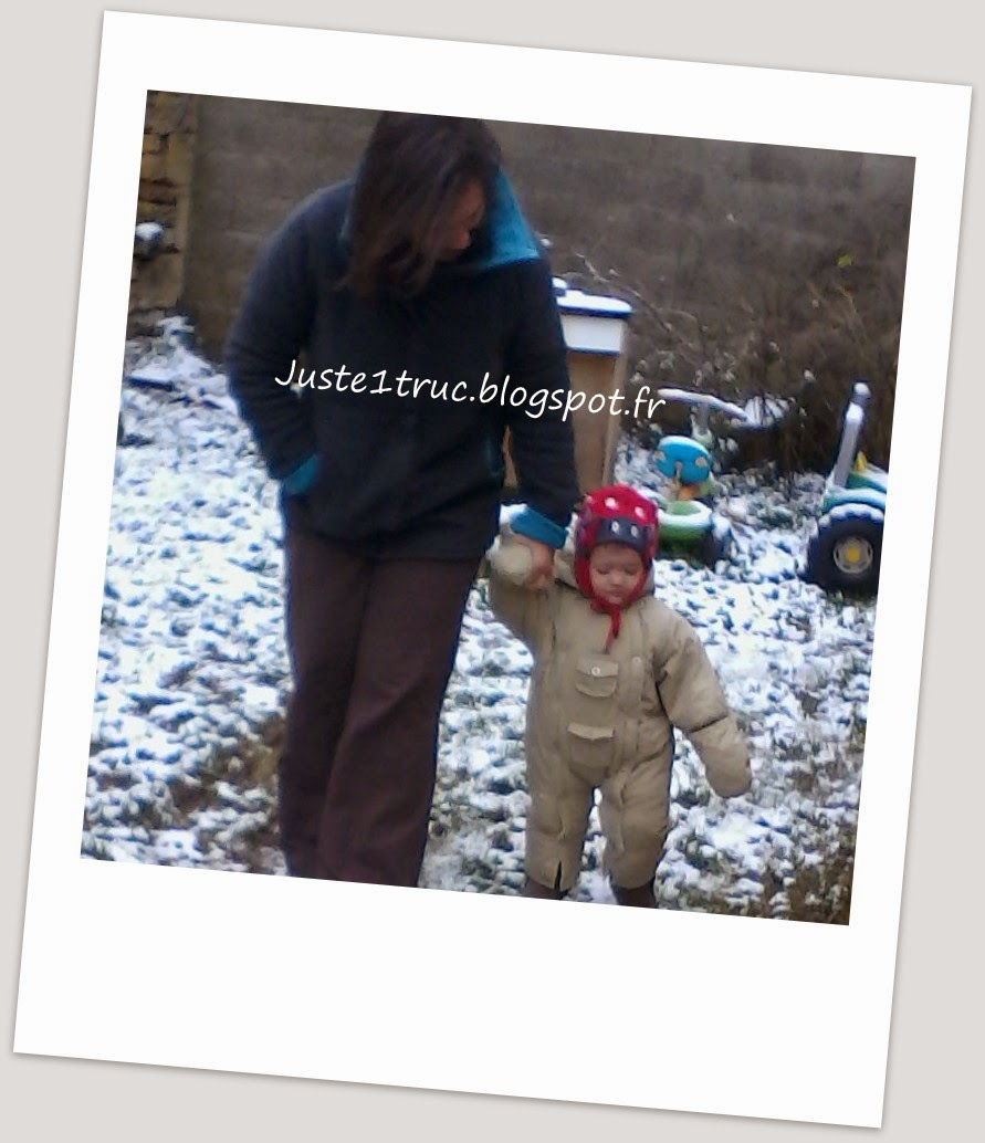 juste truc ensemble temps bambin promener claraBulle veste hiver