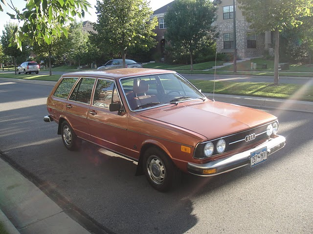 Just A Car Geek: 1978 Audi Fox Station Wagon - One of the Nicest I