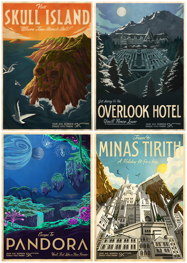 Doctor Ojiplático. Muti. Ster-Kinekor. mid-century travel style movie posters.