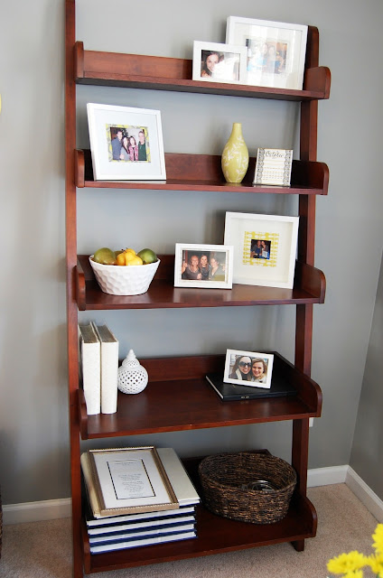 Perfectly Styled Bookcase