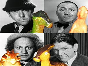 Dinosaurs + Stooges = Dinooges