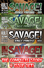 Buy SAVAGE! JUNGLE PRINCESS 4 issue set below