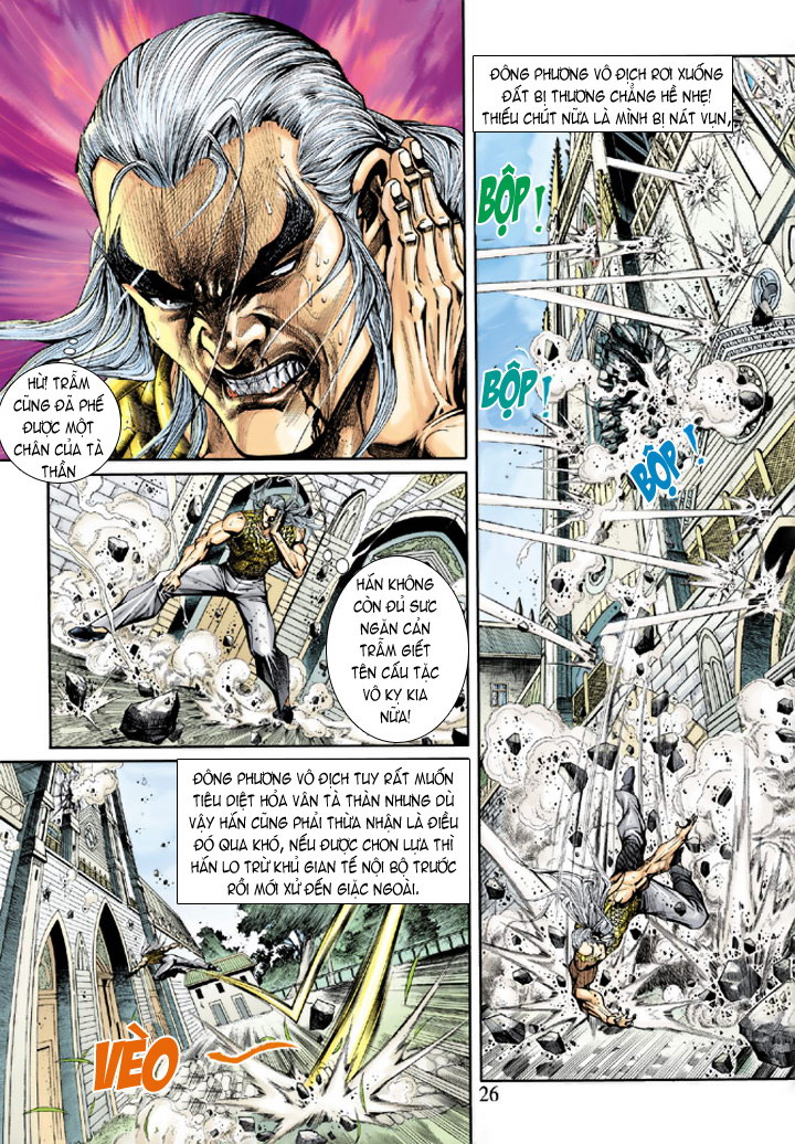 Tân Tác Long Hổ Môn chap 204 - Trang 24