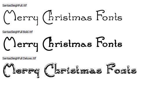 Fuentes Navidad Gratis