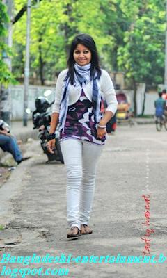 Bangladeshi Singer Borsha Chowdhury