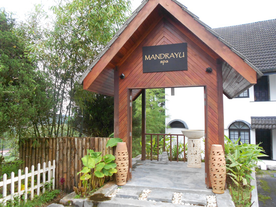 Mandrayu Spa, Strawberry Park Resort