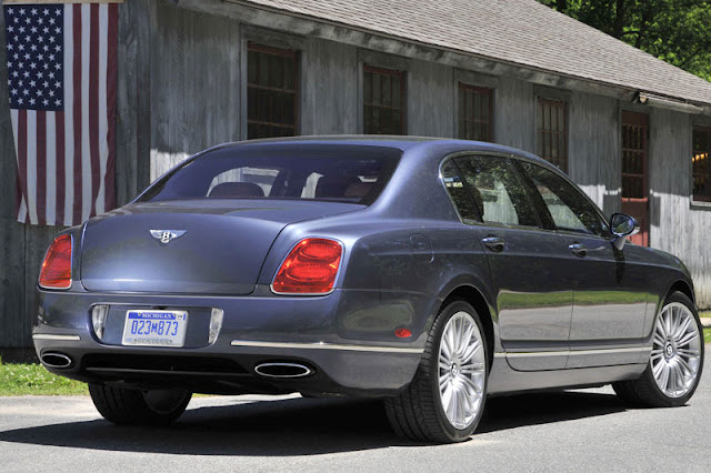 2012 Bentley Continental Flying Spur Speed Back Exterior