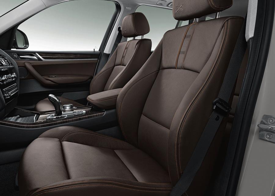 New BMW X3 マイナーチェンジした「BMW X3」のインテリア