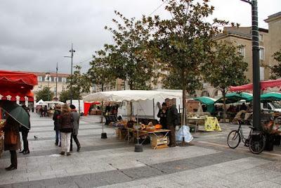 Mercado en Castres. Blog Esteban Capdevila
