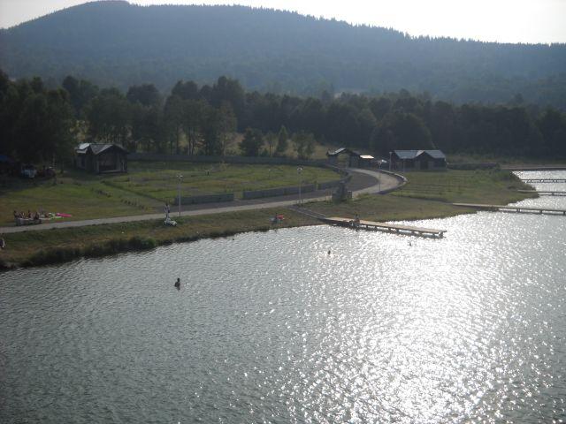 Zalew w Starej Morawie ( Stonie Śląskie)